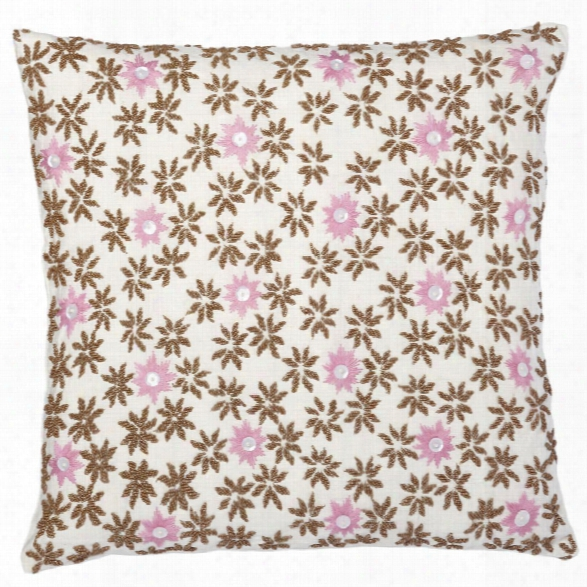 Blossom Tan Pillow Design By Allem Studio