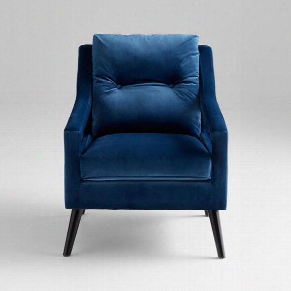 Blu Abby Chair Design By Cyan Design
