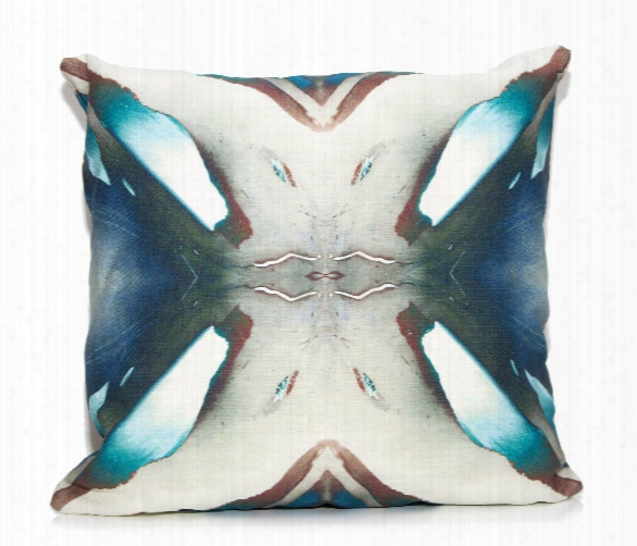 Blue Berry Throw Pillow By Elise Flashman