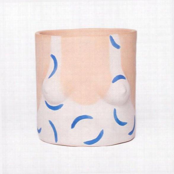 Blue Hockney Pot Design By Group Partner