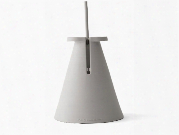 Bollard Lamp In Ash Design By Menu