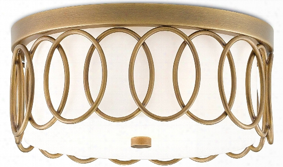 Bond Flush Mount Design By Currey & Company