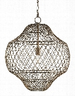 Trellis Pendant design by Currey & Company