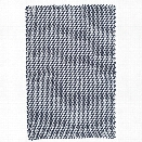 Two-Tone Rope Navy & White Indoor/Outdoor Rug design by Dash & Albert