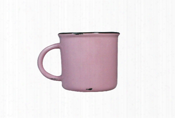 Tinware Mug In Pink By Canvas