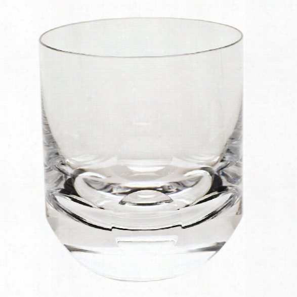 Tipsy Double Old Fashioned Glass In Various Colors Design By Moser