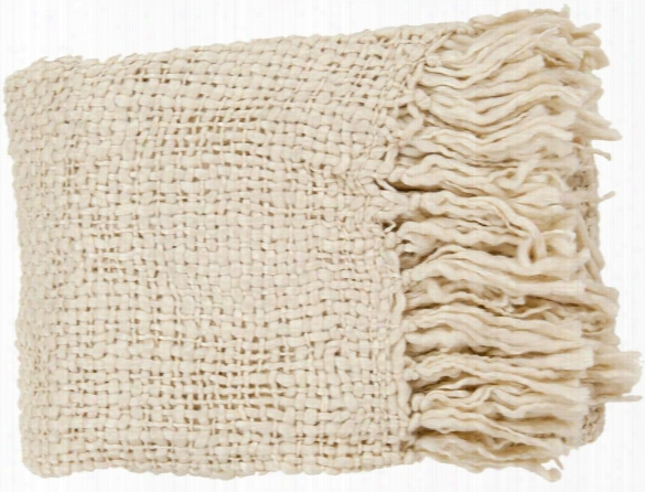 Tobias Throw Blankets In Khaki Color By Surya