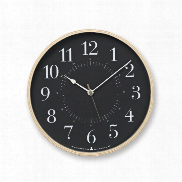 Toki Clock In Grey Design By Lemnos