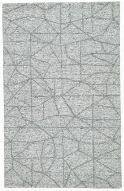 Toldeo Handmade Abstract Gray Area Rug Design By Jaipur