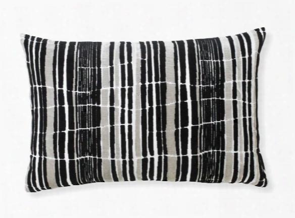 Tortoiseshell Black Oblong Pillow Design By Florence Broadhurst