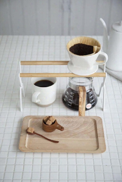Tosca Coffee Dripper Stand In White Design By Yamazaki