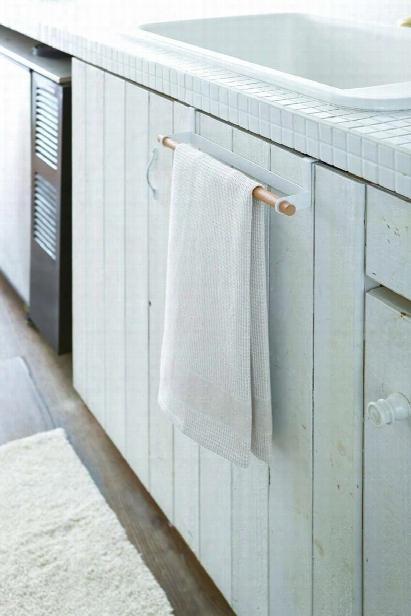 Tosca Towel Bar In White Design By Yamazaki