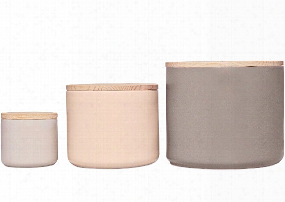 Totem Canisters Set A Design By Imm Living