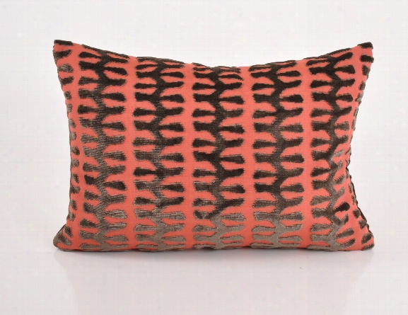 Totem Coral Lumbar Pillow Design By Baxter Designs