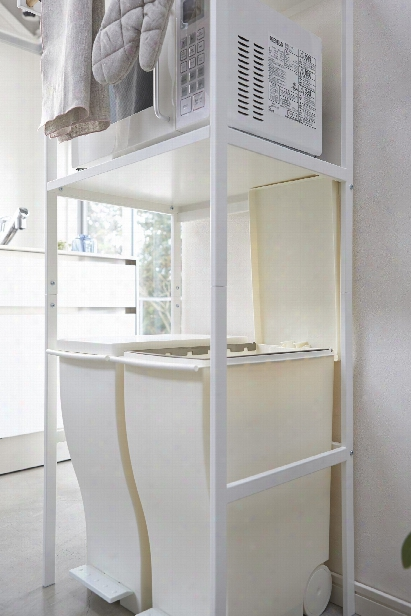 Tower All-purpose Kitchen Organizer In Various Colors Design By Yamazaki