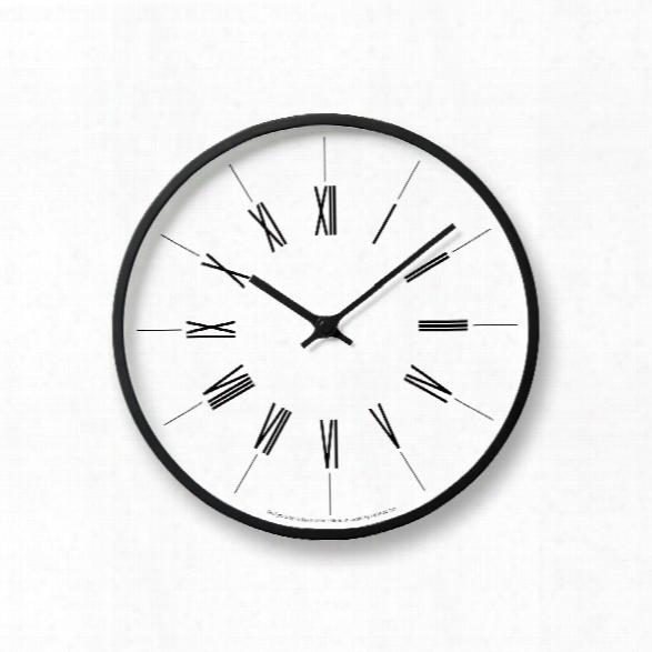 Tower Clock W/ Roman Numerals Design By Lemnos