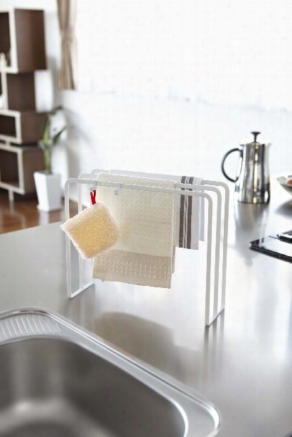 Tower Dishcloth Hanger In Various Colors Design By Yamazaki