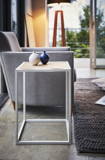Tower Square Coffee Table In Various Colors Design By Yamazaki
