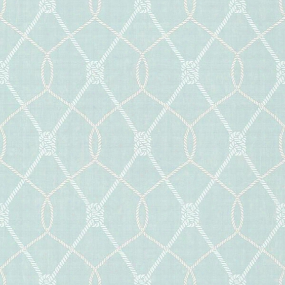 Tradewinds Aqua Trellis Wallpaper From The Seaside Living Collection By Brewster Home Fashions
