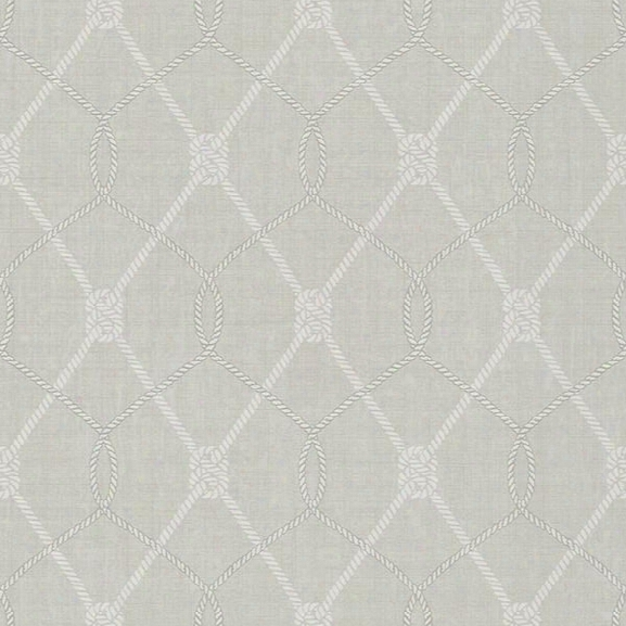 Tradewinds Gre Ytrellis Wallpaper From The Seaside Living Collection By Brewster Home Fashions