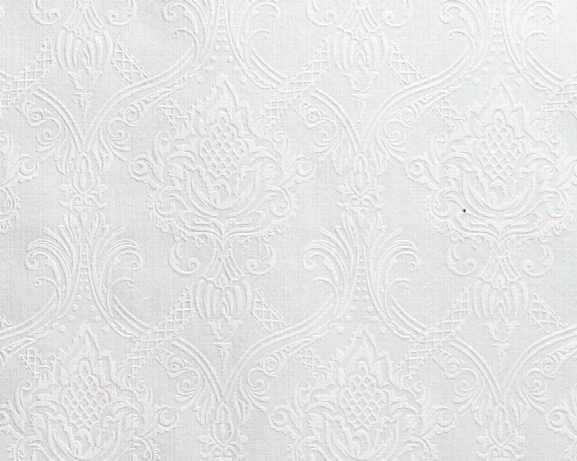 Traditional Damask Wallpaper In White Design By Bd Wall