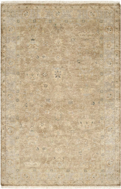Transcendent Rug In Moss & Light Grey Design By Surya
