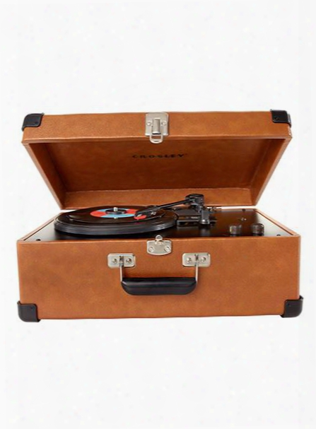 Traveler Turntable In Tan Design By Crosley