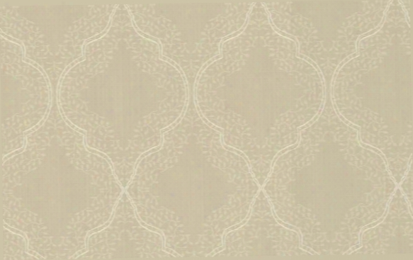 Trellis Wallpaper In Metallic And Neutrals Design By Seabrook Wallcoverings