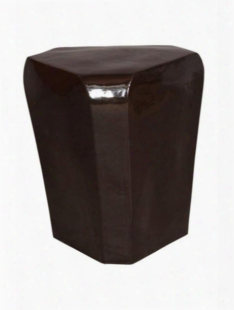 Triangle Stool In Black Design By Emissary
