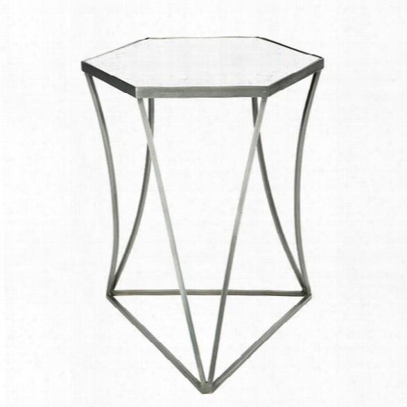Triangulo Steel Side Table Design By Aidan Gray