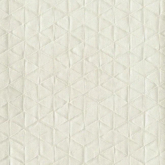 Triangulum Wallpaper In Pearlescent Cream Design By Stacy Garcia For York Wallcoverings