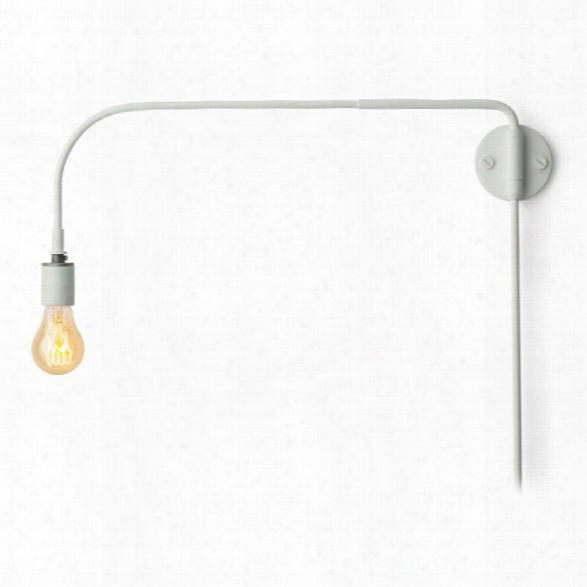 Tribeca Warren Wall Lamp In White Design By Menu