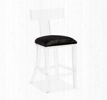 Tristan Klismos Counter Stool Black Hide Design By Interlude Home
