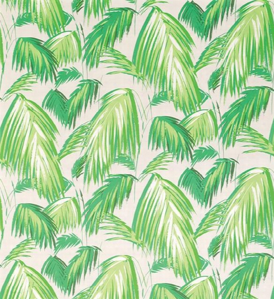 Tropicana Fabric In Grass And Pebble By Matthew Williamson For Osborne & Little
