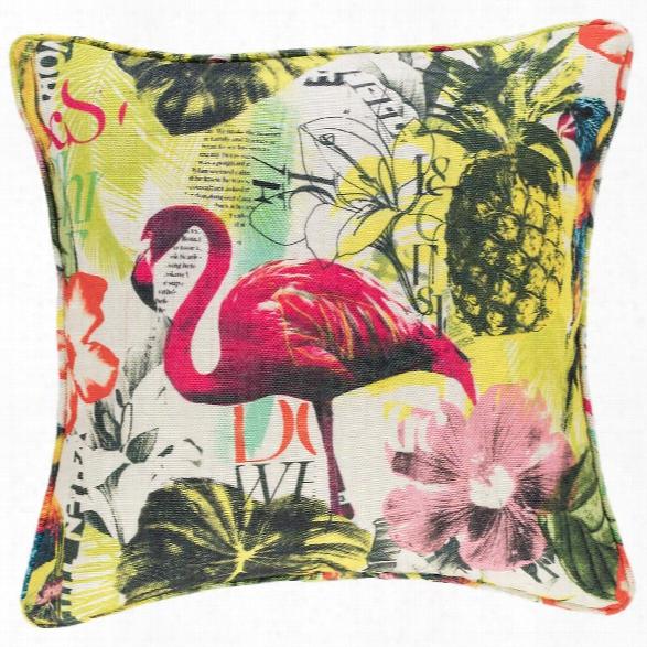 Tropics Indoor/outdoor Decorative Pillow Design By Fresh American