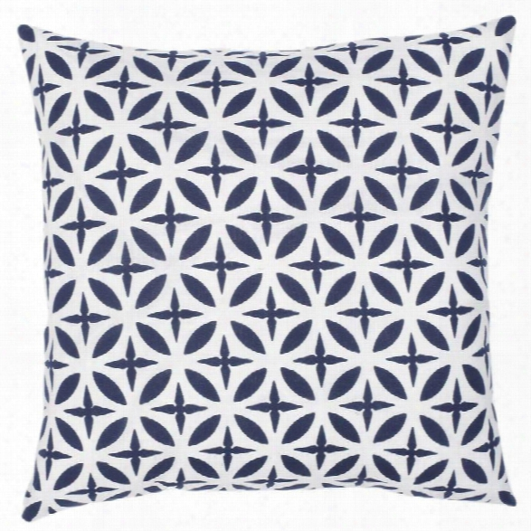 Troy Navy Pillow Design By Allem Studio