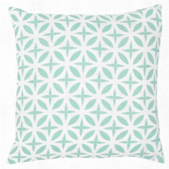 Troy Seafoam Pillow Design By Allem Studio