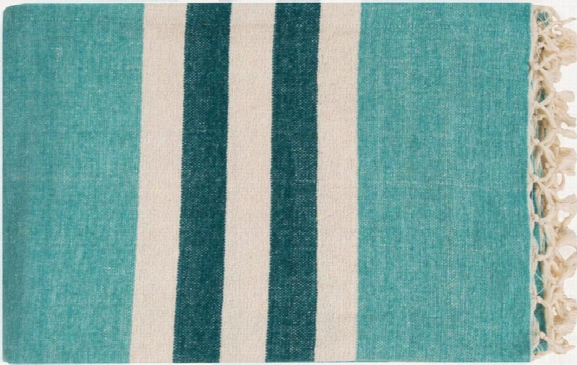 Troy Throw Blankets In Mint Color By Surya