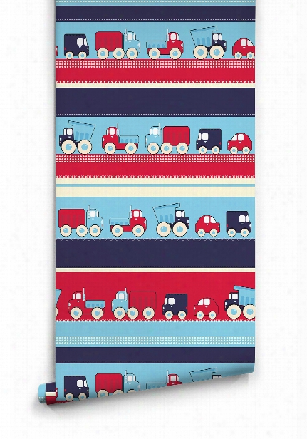 Trucks Wallpaper By Muffin & Mani For Milton & King
