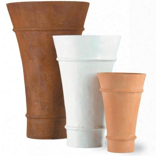 Tulip Planter In Terracotta Design By Capital Garden Products
