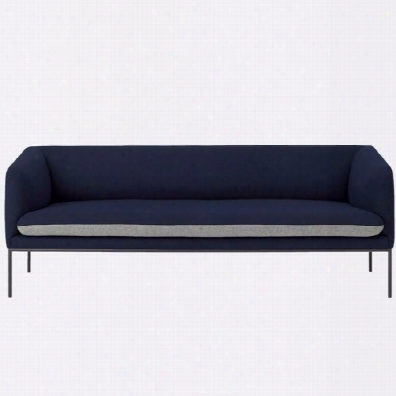 Turn Sofa 3 Seater In Various Colors & Materials Design By Ferm Living