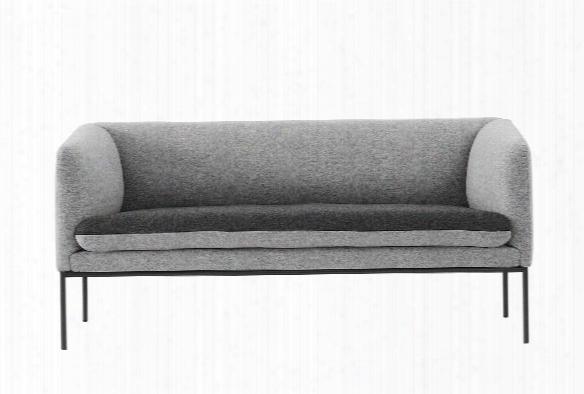 Turn Sofa In Wool Grey Design By Ferm Living
