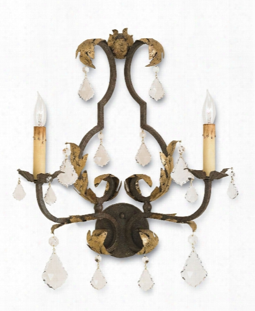 Tuscaan Wall Sconce Design By Currey & Company