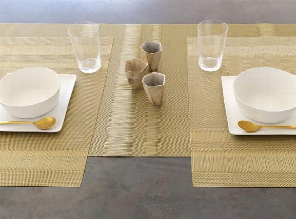 Tuxedo Stripe Tablemat In Multipel Colors Design By Chilewich