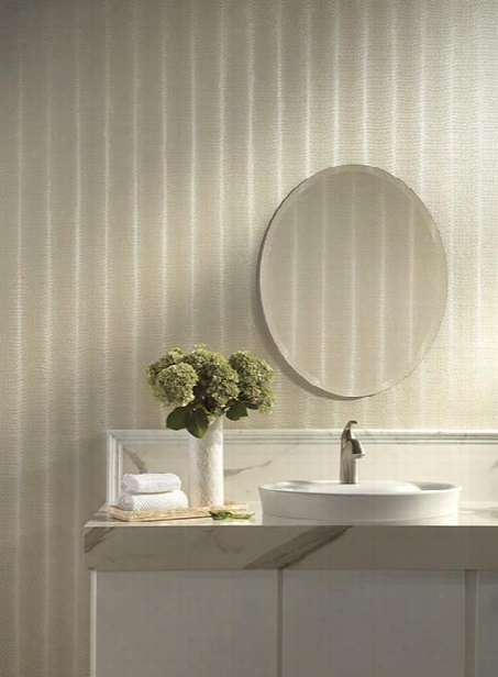 Twining Wallpaper In Pearlescent By Ronald Redding For York Wallcoverings