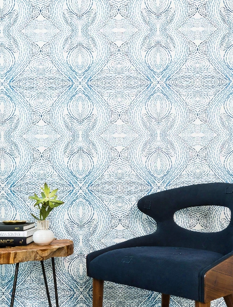 Twisted Stitcher Wallpaper In Abbey Road By Anna Redmond For Abnormals Anonymous