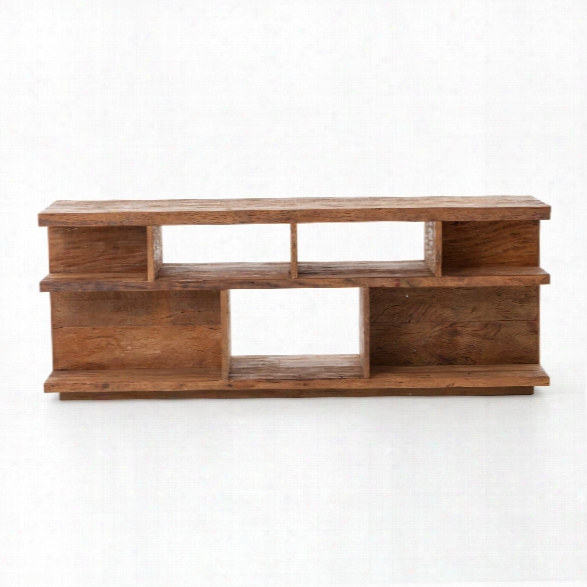 Tye Media Console In Natural Peroba