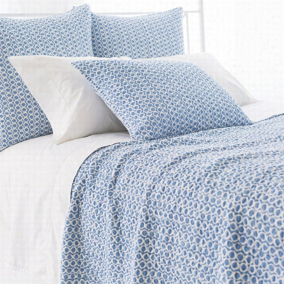 Tyler French Blue Quilted Bedding Design By Pine Cone Hill