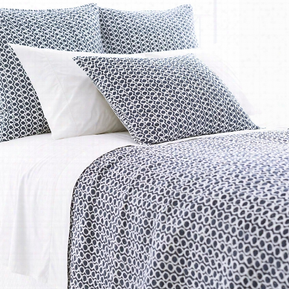 Tyler Indigo Quilted Bedding Design By Pnie Cone Hill