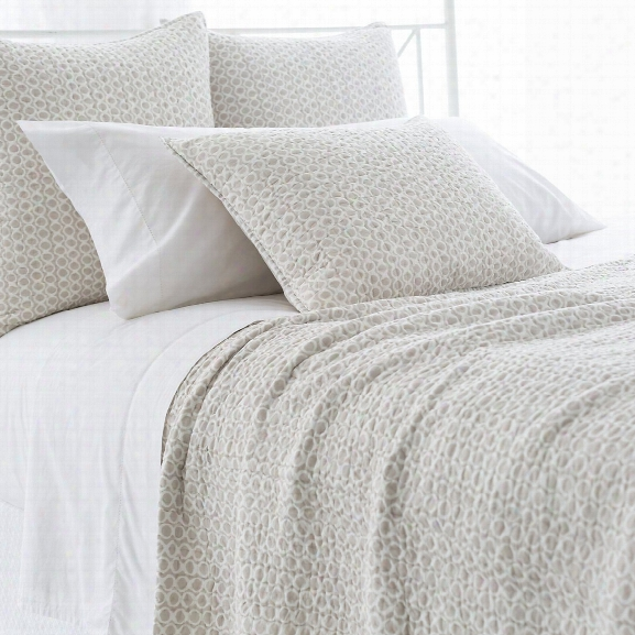Tyler Pearl Grey Quilted Bedding Design By Pine Cone Hill